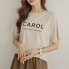Bellee 正韓 每一色都好看   CAROL涼感布料絲棉短袖上衣  (5色)  【DK6122】 預購