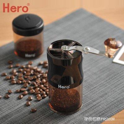 ZIHOPE 磨豆機咖啡豆研磨機手搖磨粉機迷你便攜手動咖啡機家用粉碎機ZI812
