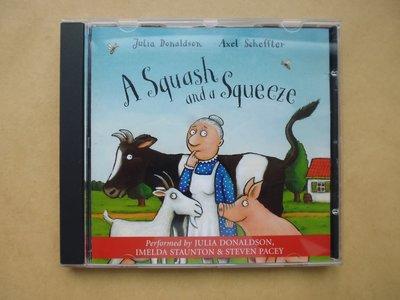 明星錄*2004年麥克米倫有聲書.A SQUASH AND A SQUEEZE.二手CD(m05)