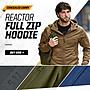 5.11 Mens Reactor Full Zip Hoodie 夾克 L/XL size