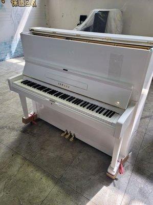疫情嚴峻!! 感謝彰化顧客直接線上下訂 YAMAHA U2 真.超夢幻 Z 白色二手鋼琴