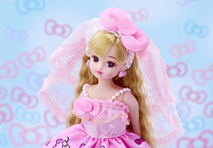 KT莉卡娃娃 KITTY_LA 61906 原價1295元 日本第一國民娃娃 永和小人國玩具店