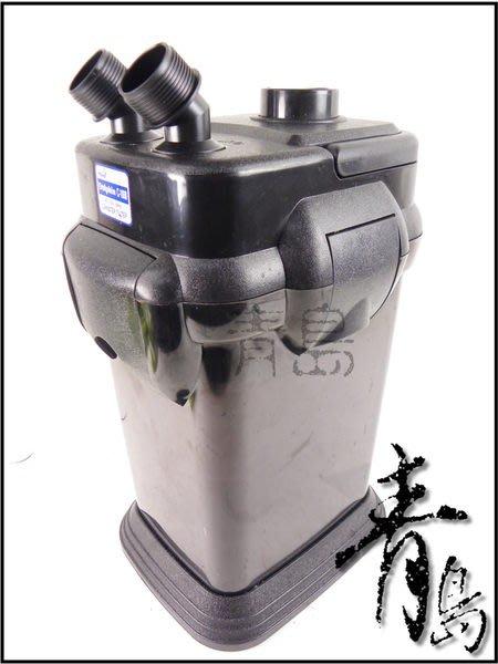 A。。。青島水族。。。KW304228台灣AI.M(dophin)------海豚高效能圓桶過濾器(附濾材)==C-1000