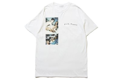"[ LAB Taipei ] LARRY CLARK x F-LAGSTUF-F ""TEE 1"" (White)"