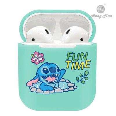 正版授權 Disney 迪士尼 AirPods / AirPods2 硬式保護套 - 史迪奇 Stitch