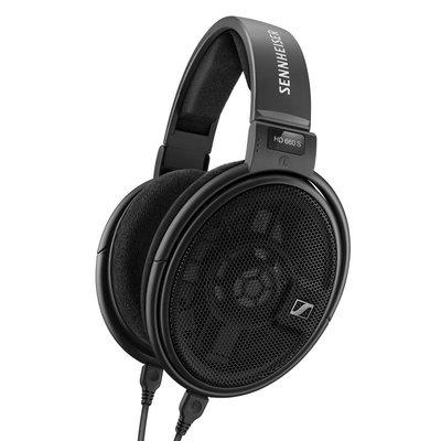 SENNHEISER 森海塞爾 HD660 S 頭戴耳罩式耳機 有線耳機 黑色 公司貨
