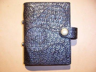 巧將手工皮件皮雕禮品典雅的唐草名片夾可訂圖案Cheergiant leather craft visiting card
