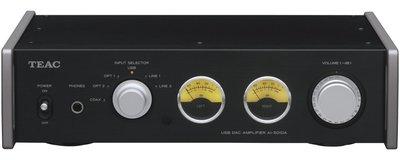 日本 TEAC AI-501DA 支援192kHz USB輸入的 綜合擴大機