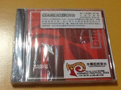 ~拉奇音樂~  GARLICBOYS  POEM  水晶唱片發行  全新未拆封 。2。