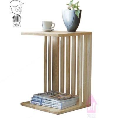 【X+Y時尚精品傢俱】 現代茶几系列-直柱 本色小邊几.椿木實木.摩登家具