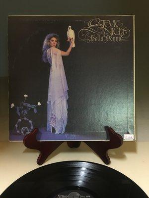 【拾全文物網】黑膠唱片 (天186)翠迪出版  stevie nicks bella donna