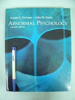 【姜軍府】《ABNORMAL PSYCHOLOGY第七版》心理學ISBN0471111228