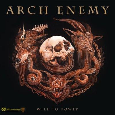 Arch Enemy 罪惡之神樂團 Will To Power LP黑膠唱片+CD 2018 (包郵)