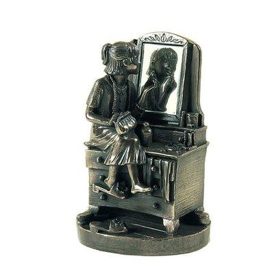 【芮洛蔓 La Romance】Genesis 冷鑄銅雕塑 - Lady Lipstick (原價$5280)