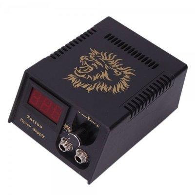 ()華龍黑色文身穩壓器機新款器配件 紋身電源勾線新 紋身變壓器 數字顯示#紋身器材#MK-036