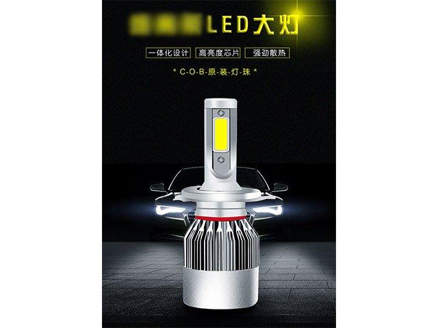 DJD19100504 最新雙面CREE COB LED大燈泡 霧燈 9006