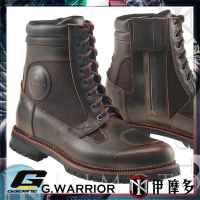伊摩多※義大利Gaerne G.WARRIOR 騎士複古 休閒車靴CafeRacer系列2440-013棕色 街車重機