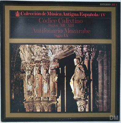 黑膠唱片 Santo Domingo De Silos - Codice Calixtino
