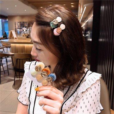 韓國Baby~韓國簡約氣質髮夾頭飾甜美小仙女髮卡夾子劉海碎髮后腦勺鴨嘴邊夾