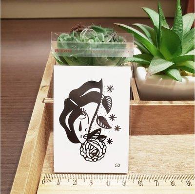 【萌古屋】百態人生52單圖 - 男女防水紋身貼紙刺青貼紙 K43