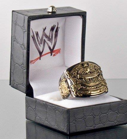 ☆阿Su倉庫☆WWE摔角 WWE Undisputed Championship Ring 無庸置疑冠軍限量戒指 熱賣中