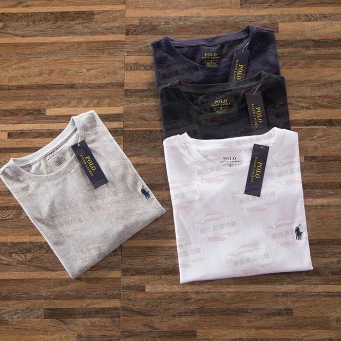 【菲比代購&歐美精品代購專家】2018年新品 Ralph Lauren POLO 小馬 素T 基本款 T恤 必買