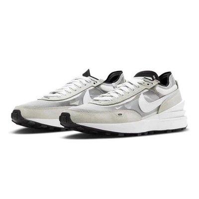 日本代購NIKE WAFFLE ONE 小SACAI 灰白 女鞋 DC0481-100