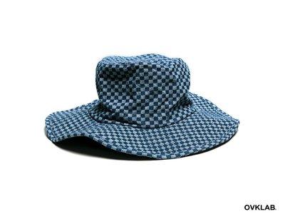 【PROXY】OVKLAB 15'A/W Wide Brim Hat 紳士帽 漁夫帽 藍菱格紋