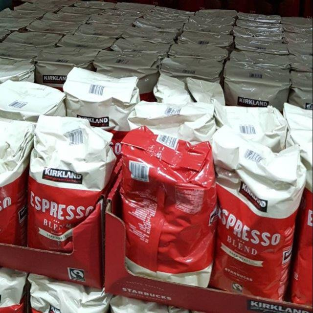 2020-11好市多義式 深度 烘焙☕ 咖啡豆 1.13公斤 阿拉比卡豆2020-11