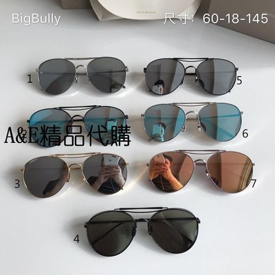 A&E精品代購 GM 太陽眼鏡 Big Bully系列 時尚潮流墨鏡  太陽眼鏡