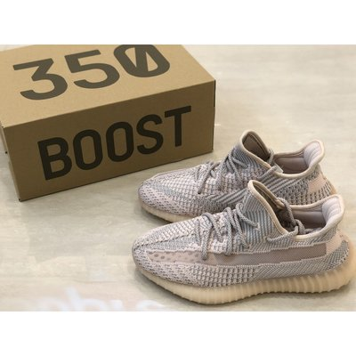 Adidas yeezy boost 350 v2 Synth 淡粉 鞋帶反光 亞洲限定 FV5578