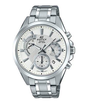 CASIO卡西歐EDIFICE簡潔精準的賽車錶標準三針三圈設計EFV-580D-7A  EFR-526D-1A