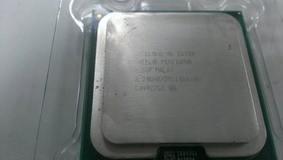 【光華維修中心】Intel Celeron 雙核心 E6700 775腳位 3.20GH (二手良品 附風扇+散熱膏)