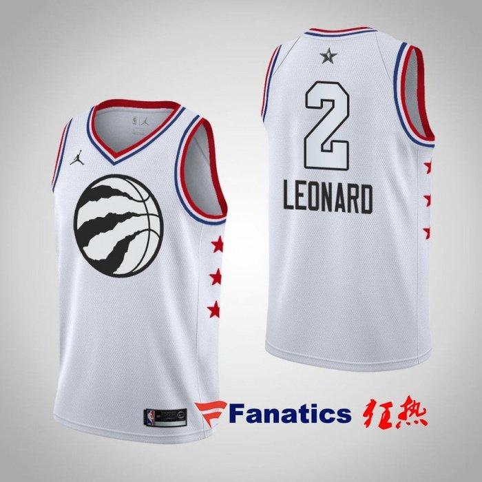 NBA2019全明星賽球衣  暴龍隊 林書豪 Lin 雷納德 Leonard     白色