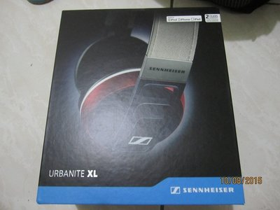 SENNHEISER URBANITE XL 耳罩式耳機/iOS專用/3.5mm 2手