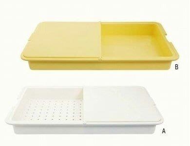 日本製 料理用 抗菌 切菜 瀝水  兩用 砧板 (預)