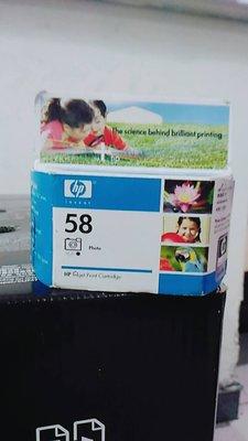HP 原廠相片墨水匣 C6658A  No.58