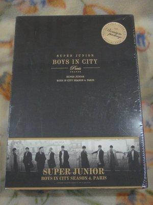 SUPER JUNIOR Boys in City Season 4. Paris 寫真書 (全新未拆封)