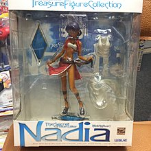 2007年 日版 1/10 冒險少女 娜汀亞 PVC figure 已開封 WAVE廠