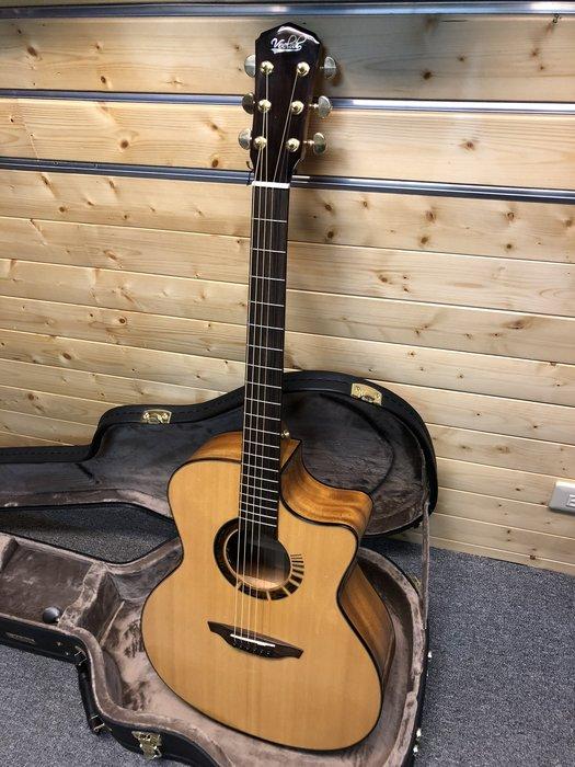 【金聲樂器】Veelah V7 BAS-GAC 全單板 木吉他