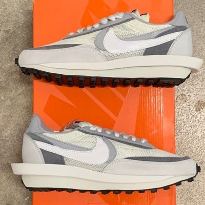 Sacai X Nike LDV Waffle 灰白 BV0073-100
