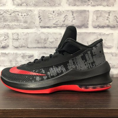 正品 Nike Air Max Infuriate 2 Low 籃球鞋 AA7068-066 黑紅 男