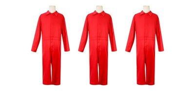 惠美玩品 歐美系列 其它 服飾 2005 美國恐怖片 我們 Us 紅色 連體衣 萬聖節 男女 Cosplay