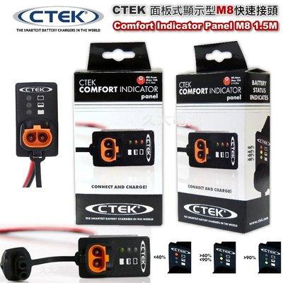 ✚久大電池❚ 瑞典 CTEK Comfort Indicator Panel 面板式顯示型快速接頭 適CTEK所有充電機