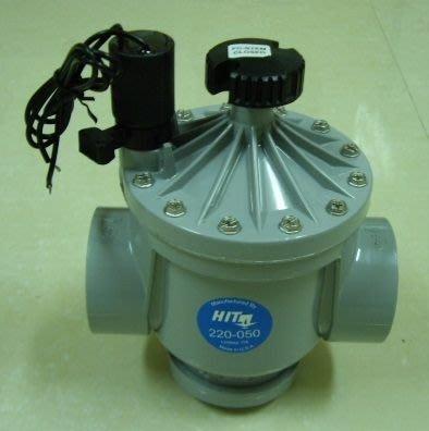 電磁閥.HIT塑鋼電磁閥  自動噴灌 自動灑水 NYLON噴灌電磁閥 搭配噴灌中控器 雨水感知器 可以雨天停機
