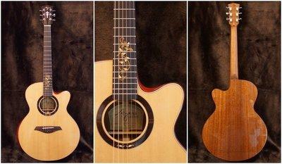 【成功樂器】Ayers Passion 20週年紀念 全單板 木吉他/民謠吉他 含原廠硬盒