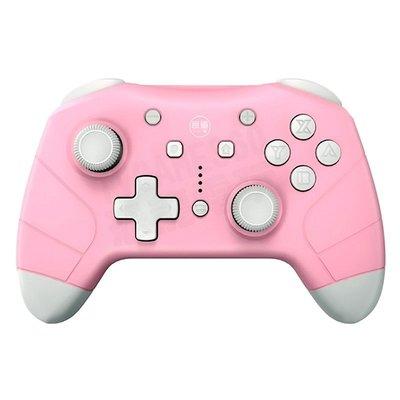 【二手商品】任天堂 SWITCH NS 良值 二代 控制器 PRO 無線手把 2G 粉紅色 裸裝 【台中恐龍電玩】