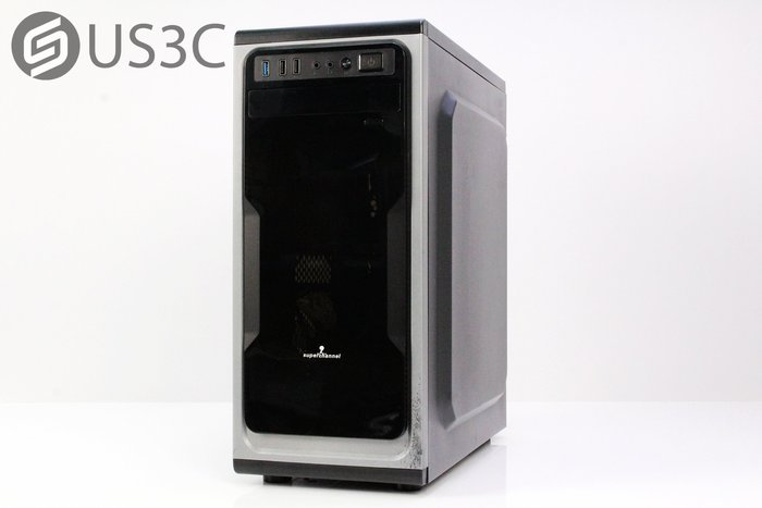 【US3C】電腦主機 PC Intel i5-7400 8G 1T GTX1050-2G 桌上型電腦 自組桌機 獨顯桌機