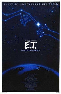 E.T.外星人-E.T. the Extra-Terrestrial(1982)經典收藏原版電影海報