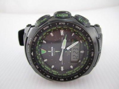 CASIO PRW-5100-1BJF PROTREK 指針式數位羅盤電波登山錶*只要7000元*(LF122)